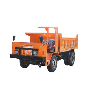 Full hydraulic optional load 6x4 underground dumper mining tipper diesel truck for tunnel