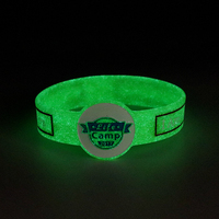 neon color custom glow in the dark silicone bracelet