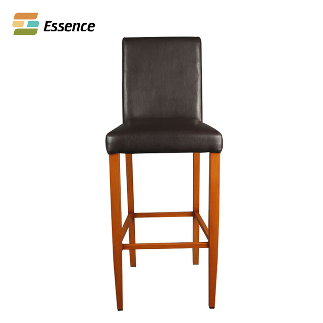 Furniture China Fuax Leather Wood Frame Dining Chair