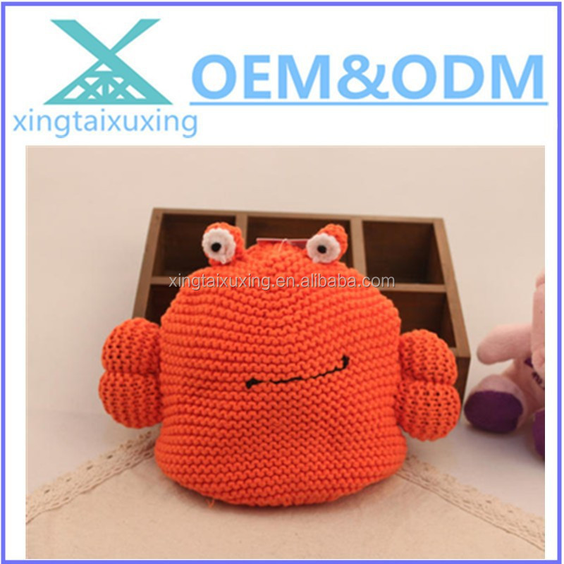 Baby Girl Boy Kid Toddler Crochet Knit Cute Crab Hat Cap Beanie