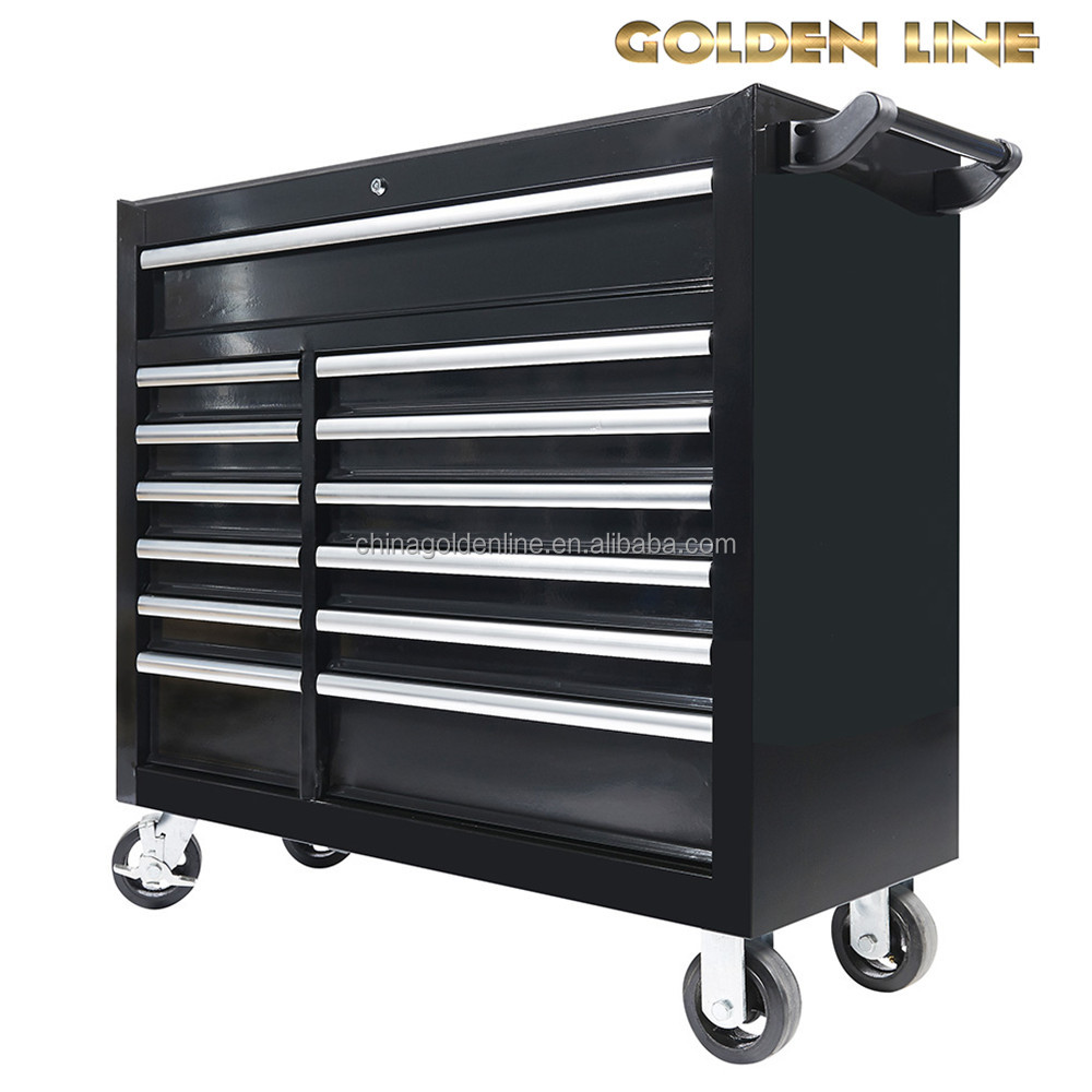 13 Drawers With Different Size Tool Cabinets With Tools Sets