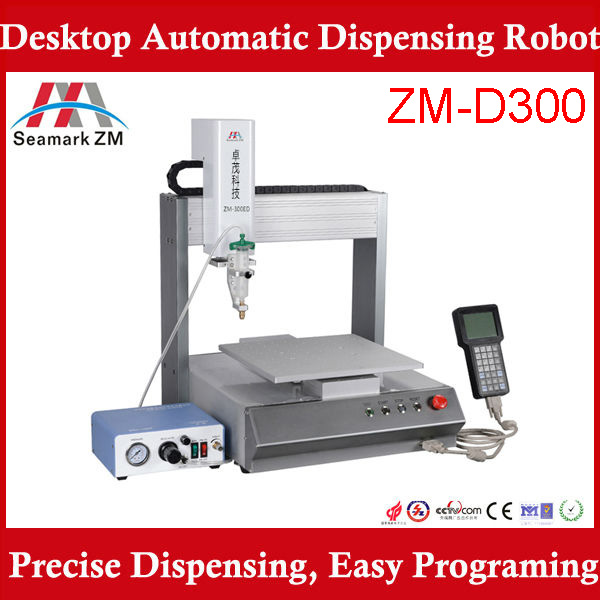 automatic hot melt glue dispensing machine 300ED dispensing machine for mobile screen/SMT Industrial Glue Dispenser <strong>Equipment</strong>