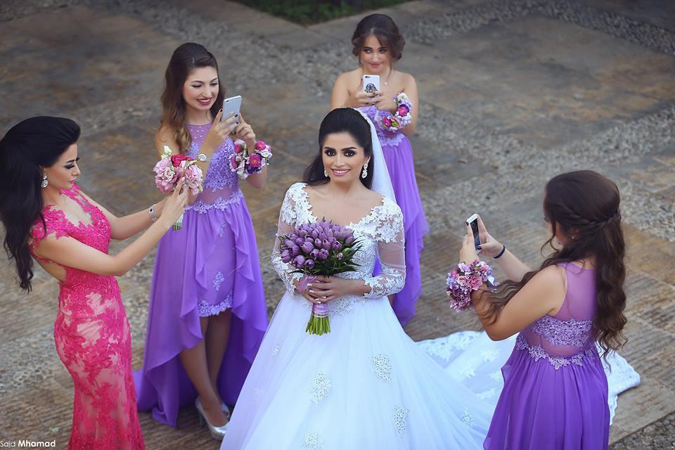 Venta al por mayor vestidos de novia sencillos largos-Compre online ...