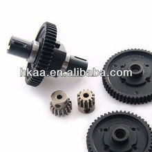 plastic motorcycle reverse gear kit with center 48 50 52 54 tooth spur gear pinion
