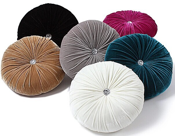 Small Round Decorative Pillows