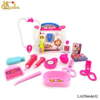 Juguetes historieta Niña niños Barato Médico Rosa De Plástico Buy Para Set Estetoscopio Play Pretendamp; c53qjL4RA