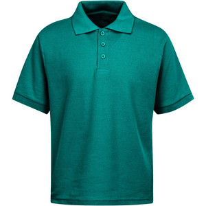 Wholesale Boys School Uniform Pique Polo Shirt
