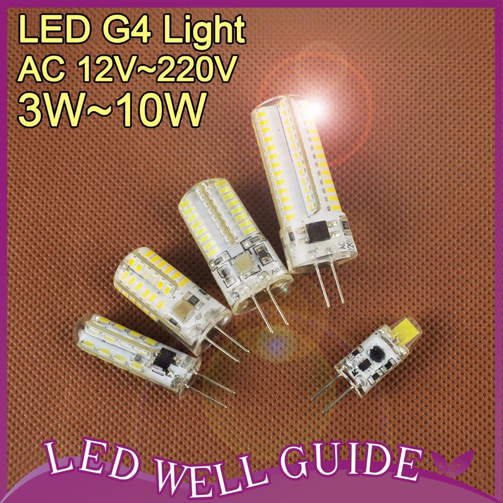 normal cob led g4 led lamp 3w 10w ac dc12v 220v led bulb led light bombilla lampada led. Black Bedroom Furniture Sets. Home Design Ideas