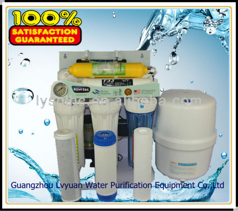 Wide selection 7 stage universal water filter/stock water filter