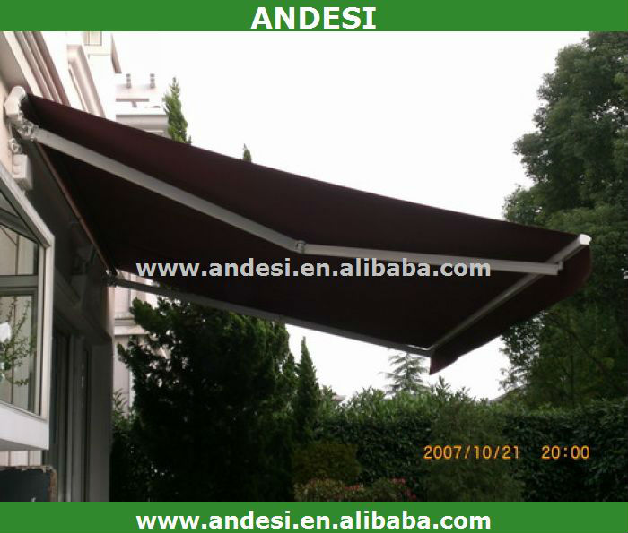 simple retractable used aluminum awnings for sale