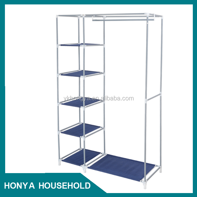 Dormitorio armario de metal perchero-Otros Muebles plegables ...
