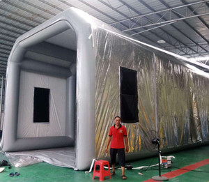 14m giant car paint booth used /paint trotter portable spray booth with cheap price