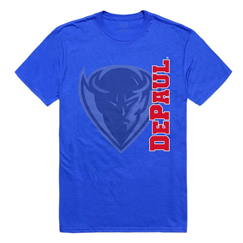 f1873f87 Get Quotations · W REPUBLIC APPAREL DePaul University Blue Demons NCAA  Ghost Tee T-Shirt
