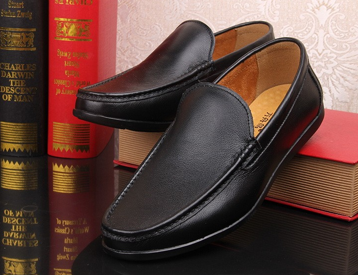Quality Wholesale Leather Slip Loafers Genuine Shoes On Shoes Mens High Casual Pump Driving 44zxqw56