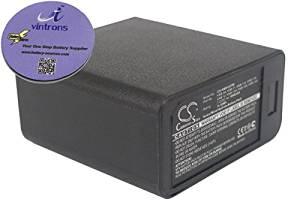 vintrons (TM) Bundle - 1600mAh Replacement Battery For KENWOOD TK-250, TK-353, + vintrons Coaster