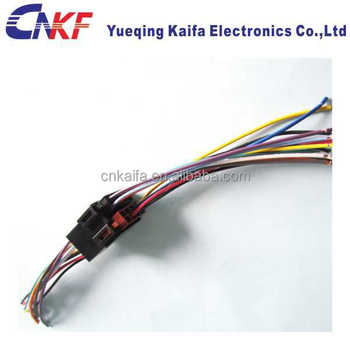 Yueqing Auto Audio Iso 10487 Wiring Harness Cable Connector Harness ...