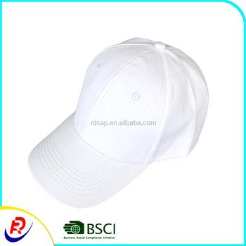 e16fc8bd7ca37 White aplique osfa plain blank cotton baseball caps sports hats promotion  gift wholesale chinese factory supplier