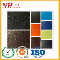 hammer texture non-toxic powder coating paint