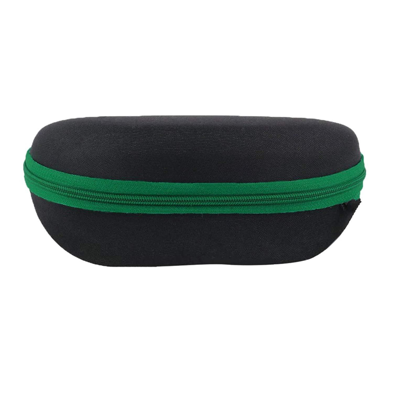 409007948d Get Quotations · Powerfulline Durable Zipper Black Shell Hard Case Sunglasses  Eyewear Eyeglasses Protector Box