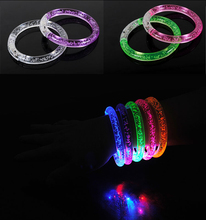 Colorful Flashing Led glow light stick bracelets for party