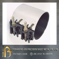 carbon steel metal sheets 4 inch pipe clamp