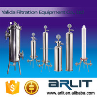 Industrial Column Chromatography Filtration Stainless Steel Water Filter Housing