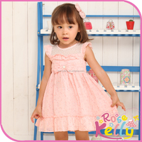 Soft Comfortable Cotton Baby Girl Dresses,Hand Made Brand Cotton Frock Design