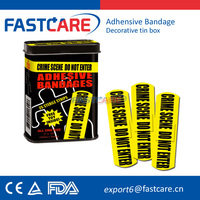 Custom Printing Band Aid For Wound Plaster CE