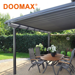 Polyester Fabric Aluminum Retractable Roof Awning Type