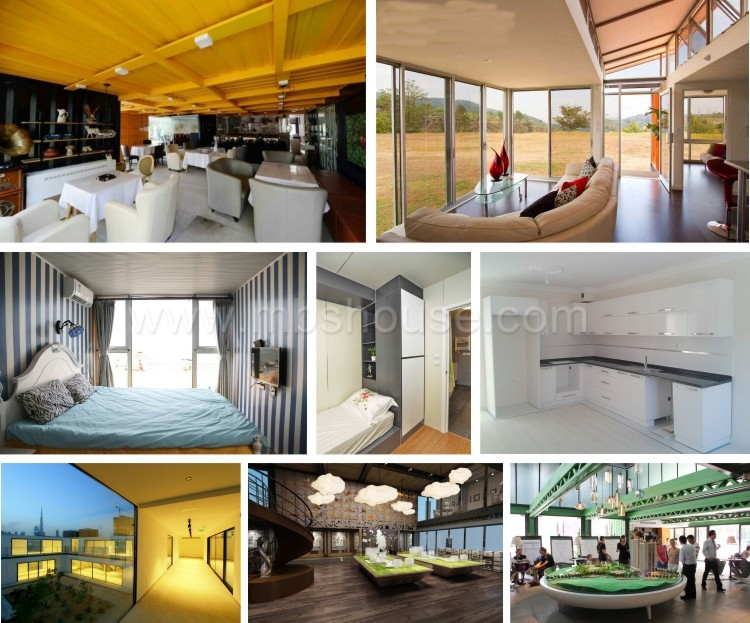 China 20ft Luxury Prefab Shipping Container Homes For Sale