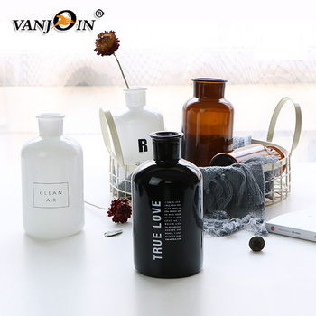 Home Decoration Wholesale Glass Aroma Diffuser Bottle With Logo Printing
