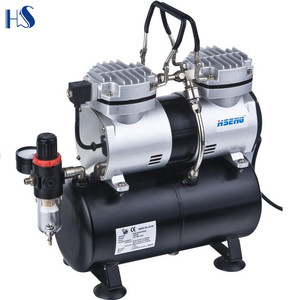 AS196 Best Seller Double Cylinder Mini Air Compressor 12V