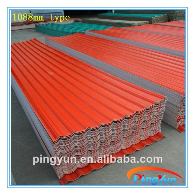 Synthetic Resin Roofing Tile Asa Spanish Roofing Tile Asa