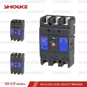 3P mcb mccb 250A NF250-CP moulded case circuit breaker