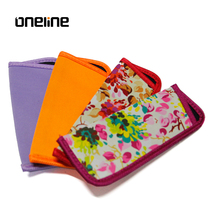 Excellent quality fancy pattern glasses pouch/custom design sunglasses pouch