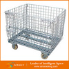 Wholesale Steel Welded Galvanized Pallet Mesh Wire Storage Cage With Lid