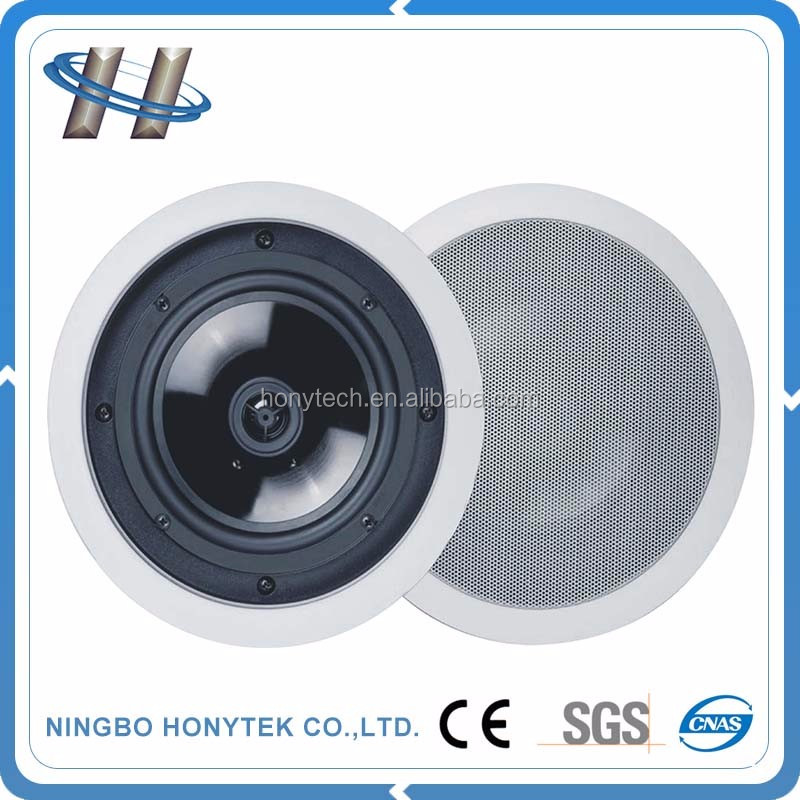 Professional mini portable 8 inch ceiling mounted surround sound