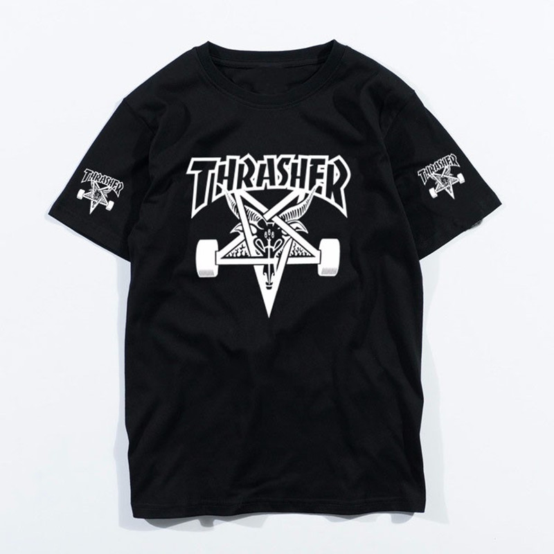Popular Thrasher Tshirt-Buy Cheap Thrasher Tshirt lots