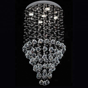 American Style energy saver Chandelier Light in Hotel Living Room