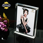 JINBAO top grade latest design acrylic box picture frame 3d poster display