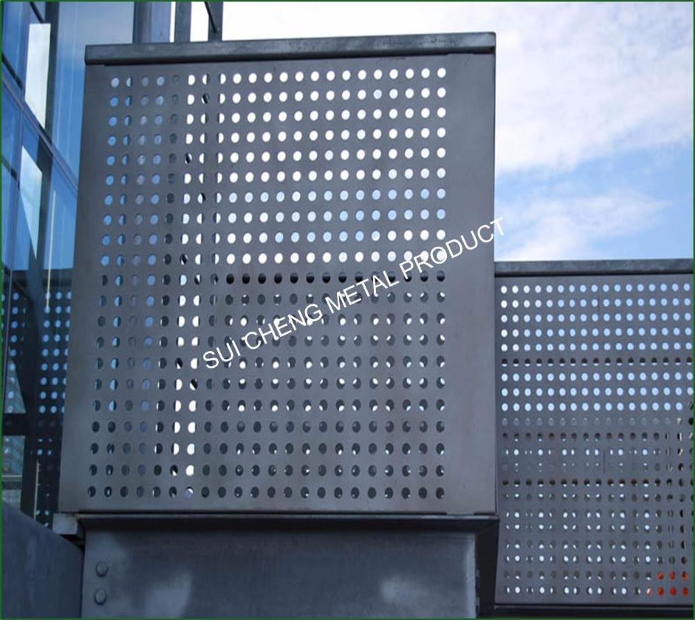 Guangzhou Factory Aluminium Perforated Panels Aluminum