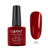 CANNI soak off nail polish gel nail manicure Factory Professional Private Label 7.3ml 240 Colors Bottle Nail UV Gel Polish OEM