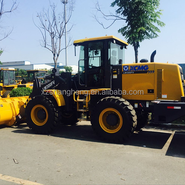 Chinese brand XCMG LW300FV 3 Ton Rear Wheel Loader For Sale