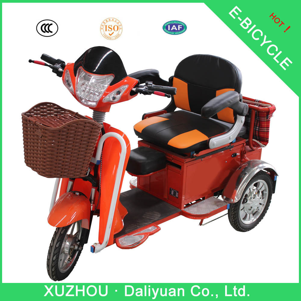 Cast electric tricycle yeah!