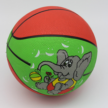 High Quality Mini Rubber Basketball Bouncing Stress Ball