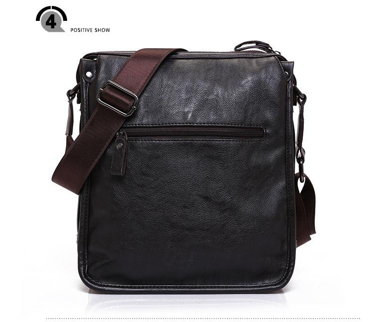 9c3dd607324d FEIDIKA BOLO Brand Messenger Bag Men Brown Handbags Men Crossbody ...