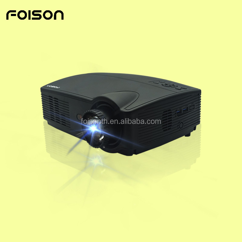 New arrival Foison FSP328 300 inches 1080p Android system 4000 lumens outdoor LED projector