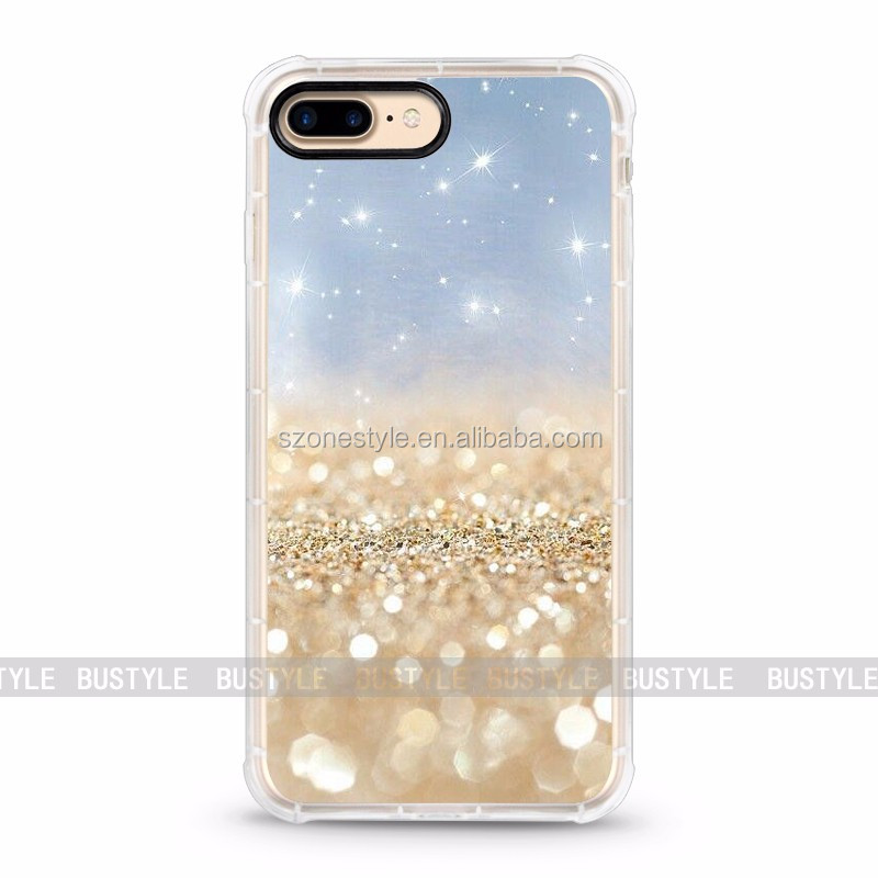 2017 custom logo UV printed 3d bling case for iphone 6 case bling bling for iphone 7 case
