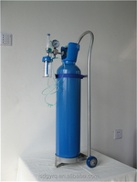 trolly & regulator 10L medical oxygen cylinder price