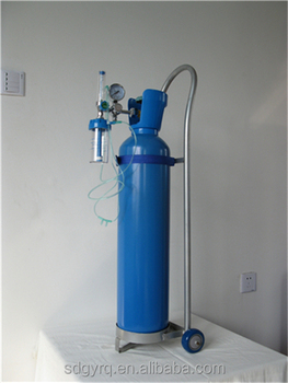 Trolly & Regulator 10l Medical Oxygen Cylinder Price - Buy Medical Portable  Oxygen Cylinder,Oxygen Cylinders Capacity,Oxygen Gas Cylinder Product on